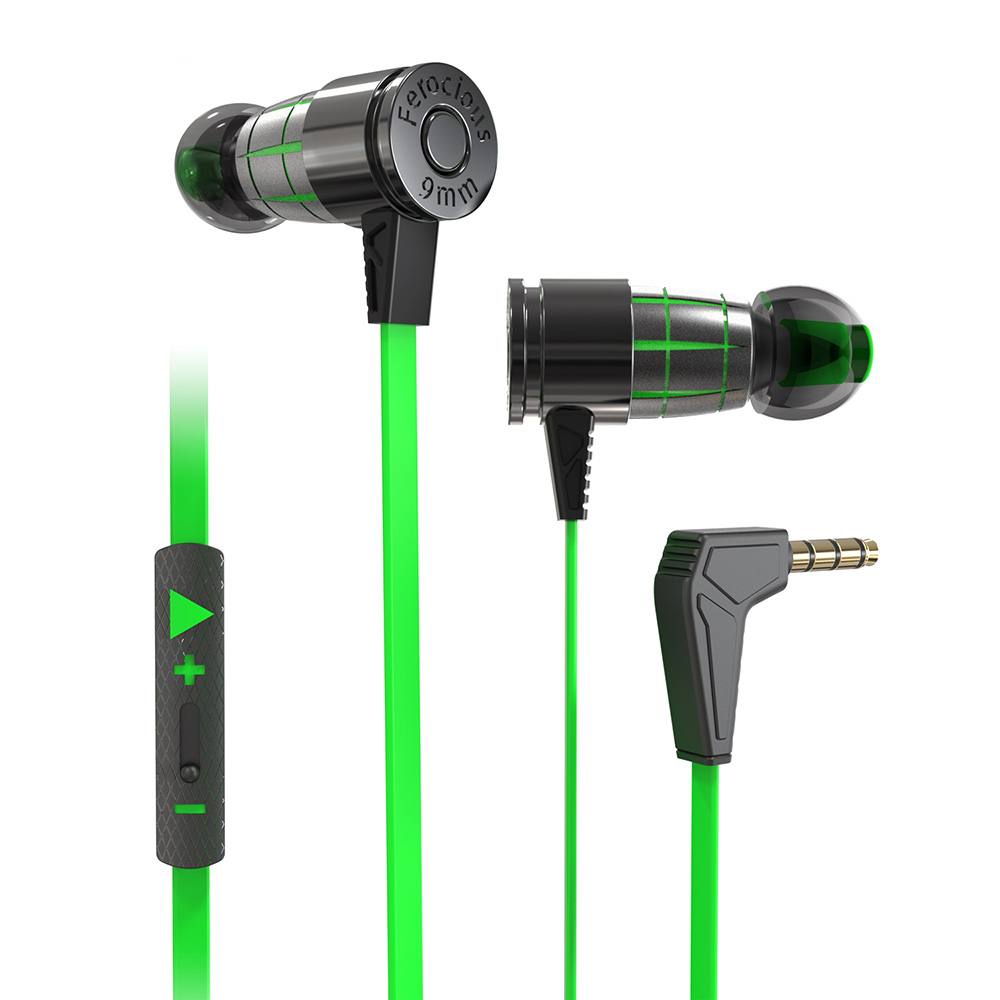 Tai phone, tai nghe headphone nhét tai cho Game thủ chuyên nghiệp Plextone G25, thiết kế đầu đạn kèm nút biến đổi âm thanh (Variable Sound) hỗ trợ chống ồn, mẫu mới 2020 - Hàng Chính Hãng.
