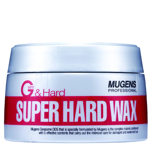 Sáp siêu cứng, kết dính cao Mugens Super Hard Wax Hàn Quốc 90g + Móc khóa