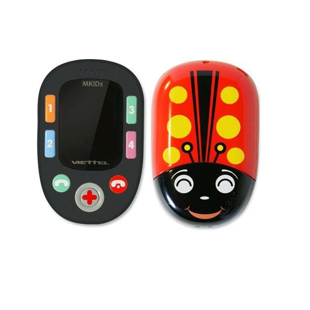 Combo: Điện  thoại định vị trẻ em Mkids Viettel