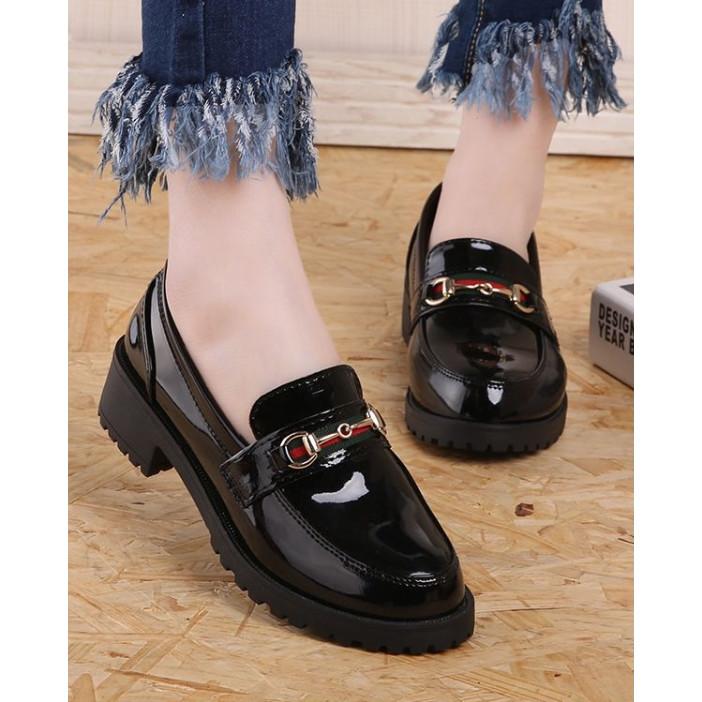 Giày Mọi Nữ Đế 4cm Mã H77