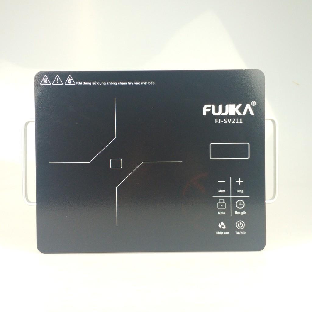 Bếp điện hồng ngoại không kén nồi chảo, phím cảm ứng, công suất 2000W FUJIKA-Hàng chính hãng