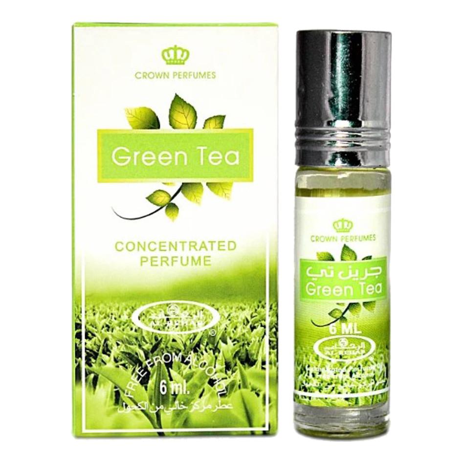UNISEX_Tinh dầu nước hoa GREEN TEA Al-Rehab (hàng chính hãng )