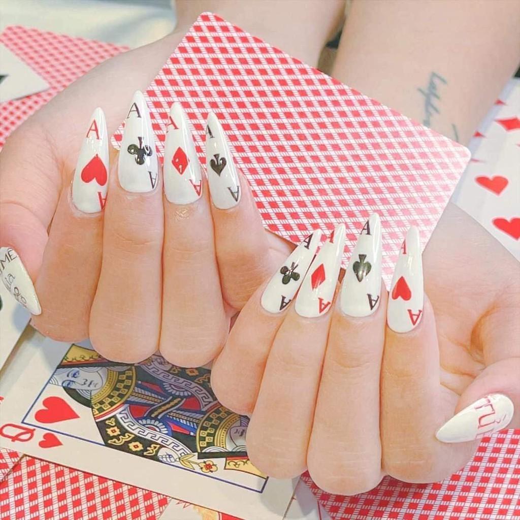 Sticker nails BÀI TÂY - hình dán móng 3D