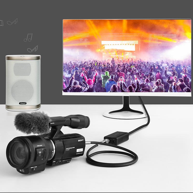 Bộ chuyển đổi tín hiệu 3G/SDI sang HDMI UGREEN CM131 40965 - Hàng chính hãng