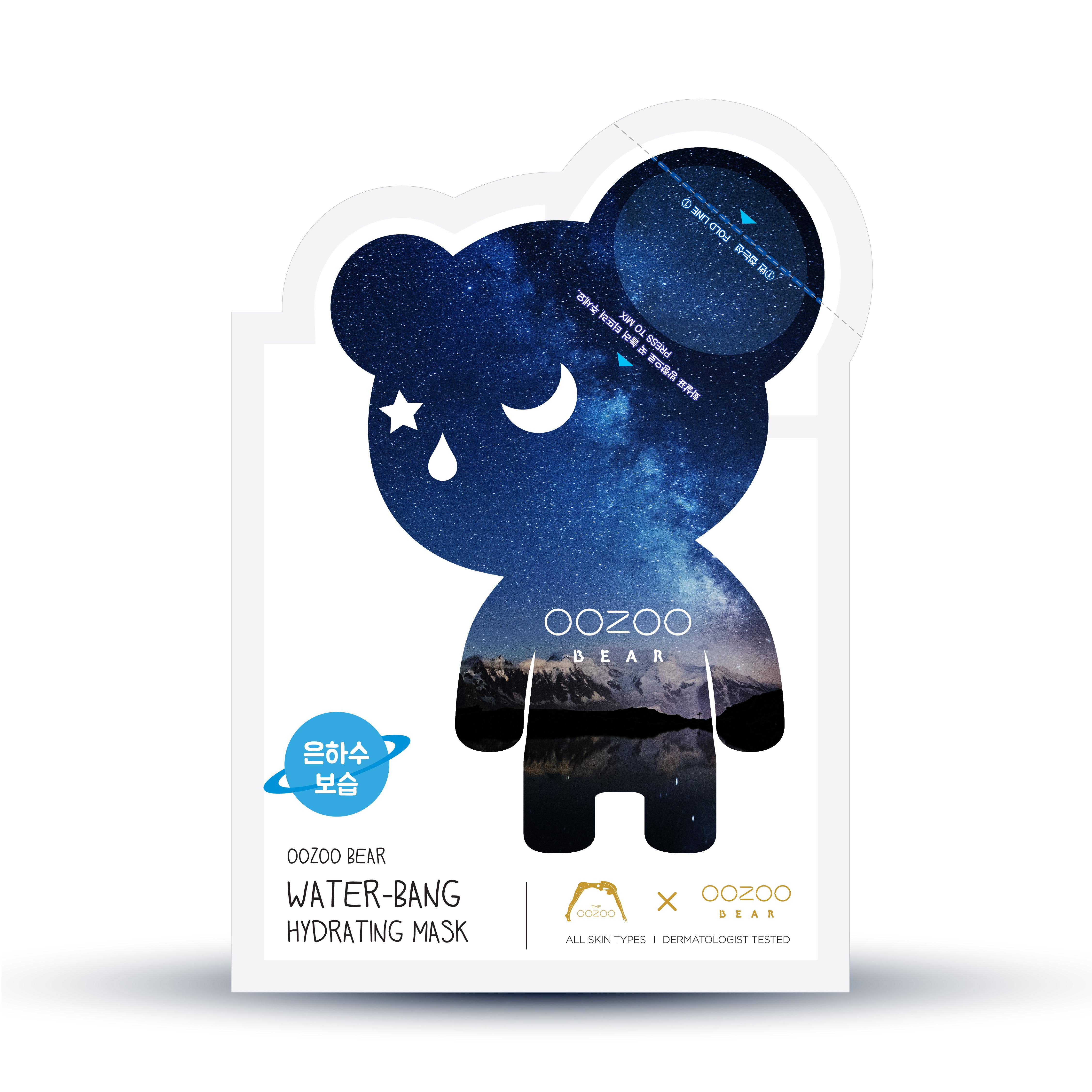 Mặt Nạ Tai Gấu Cấp Nước - Dưỡng Ẩm THE OOZOO Water-Bang Hydrating