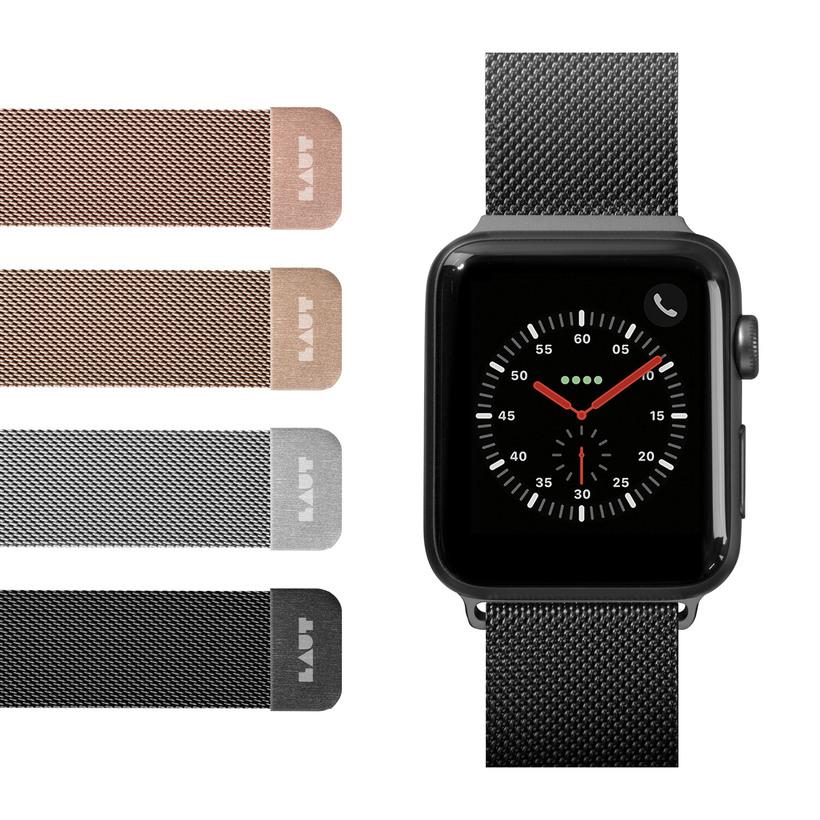 Dây Đeo LAUT Steel Loop Watch Strap Dành cho Apple Watch Series 1/2/3/4/5/6/SE (38/40mm) - Hàng Chính hãng