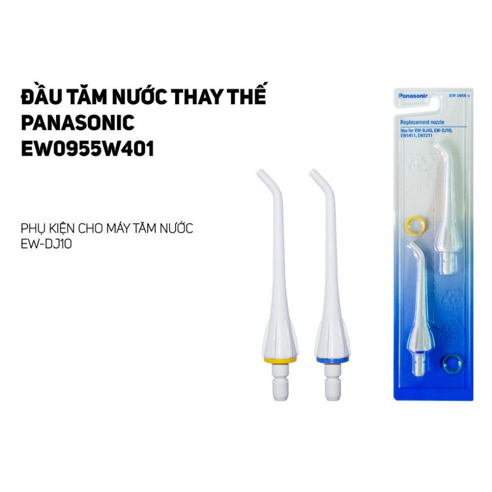 Đầu Tăm nước Thay Thế Panasonic EW0955W401 – Phụ kiện cho máy tăm nước EW-DJ10 - Hàng chính hãng