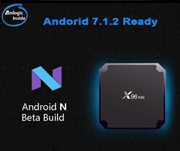 Android TV Box X96 mini Ram 2GB - ROM 16GB (xem phim, truyền hình, game online thỏa thích)