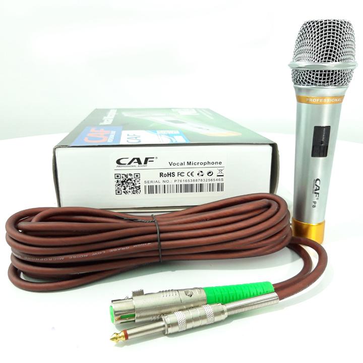Micro Karaoke Có Dây Cao Cấpcafp8