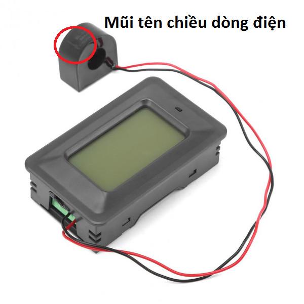 Công tơ điện - đồng hồ điện tử 6 thông số ,đồng hồ đo điện 100A