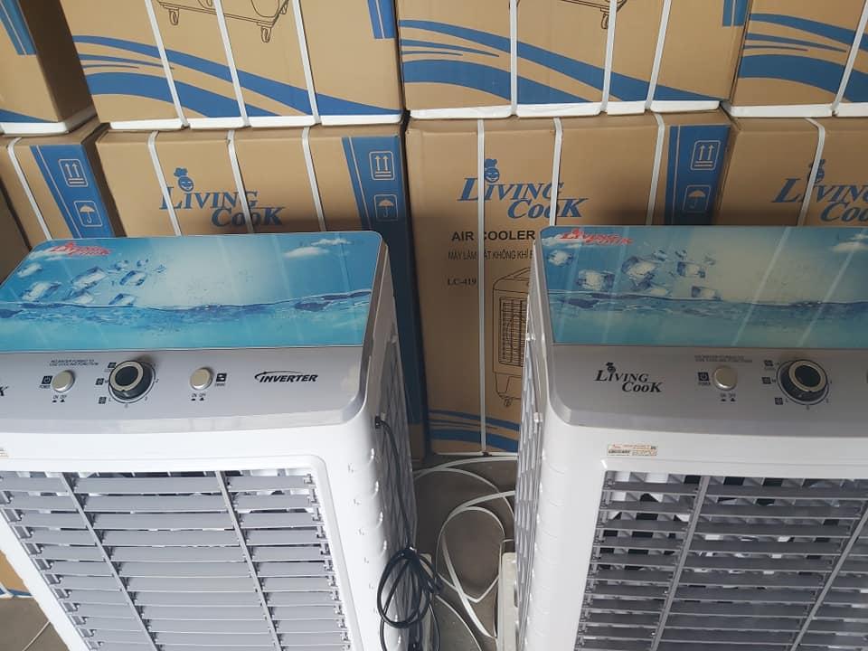 Máy Làm Mát Không Khí Bằng Hơi Nước - Quạt Điều Hòa Inverter LivingCook LC-419 - Chính Hãng