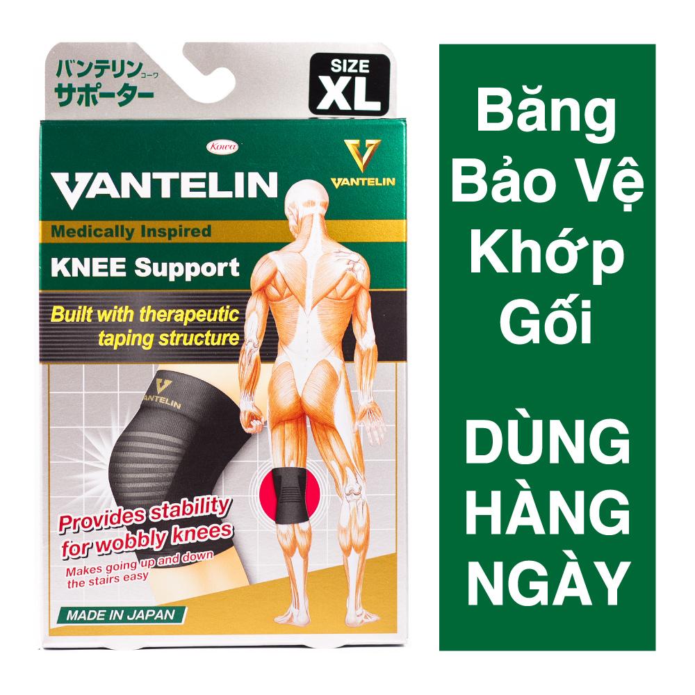 Băng Bảo Vệ Khớp Gối Bó Gối Vantelin Support Knee size XL