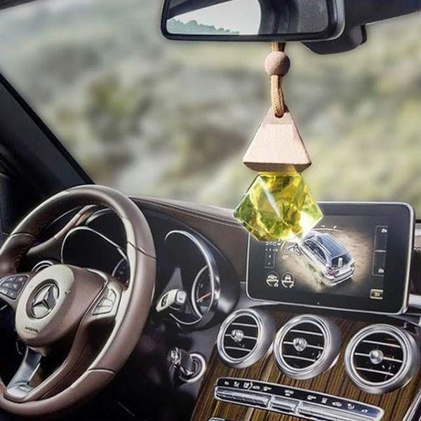 Treo xe hơi, ô tô Tinh dầu Quế-Hình lục lăng