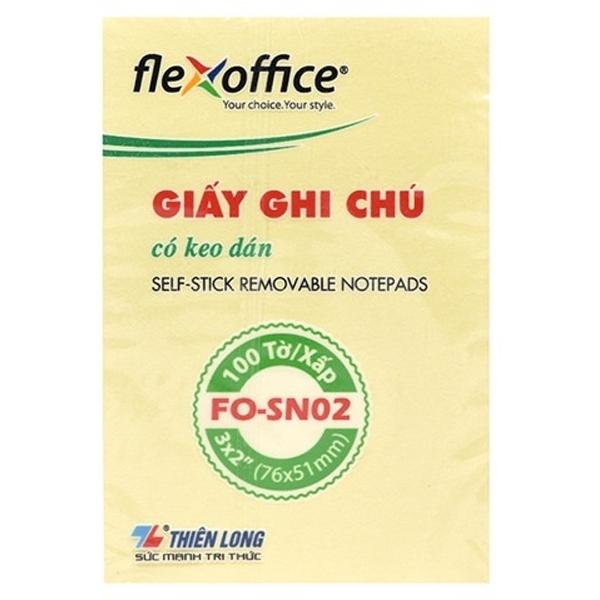 Bộ 3 Giấy Ghi Chú Flexoffice 3x2 FO-SN02