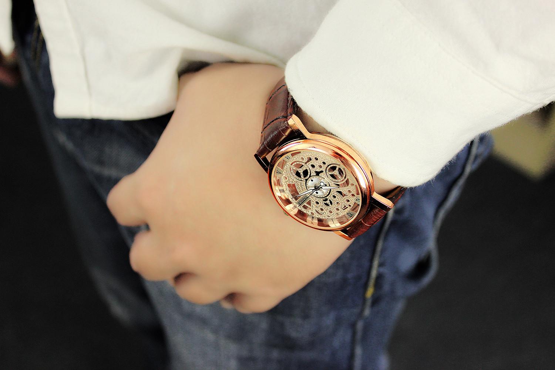 Đồng hồ nam dây da YZ321