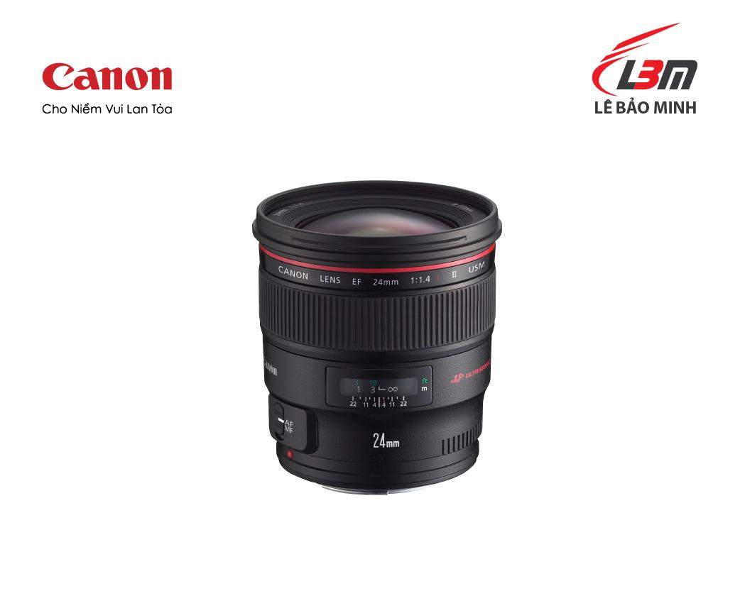 Ống kính Canon EF 24mm f/1.4L II USM - Hàng Chính Hãng