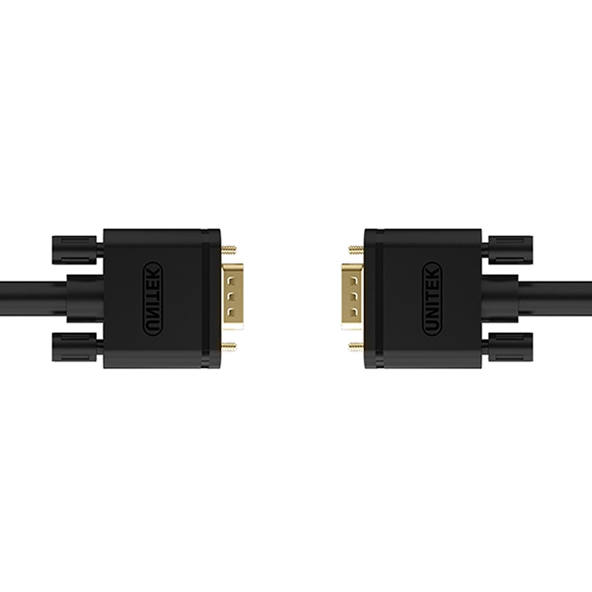 Cáp màn hình VGA 10m Unitek (Model Y-C506A ) - Hàng Chính Hãng