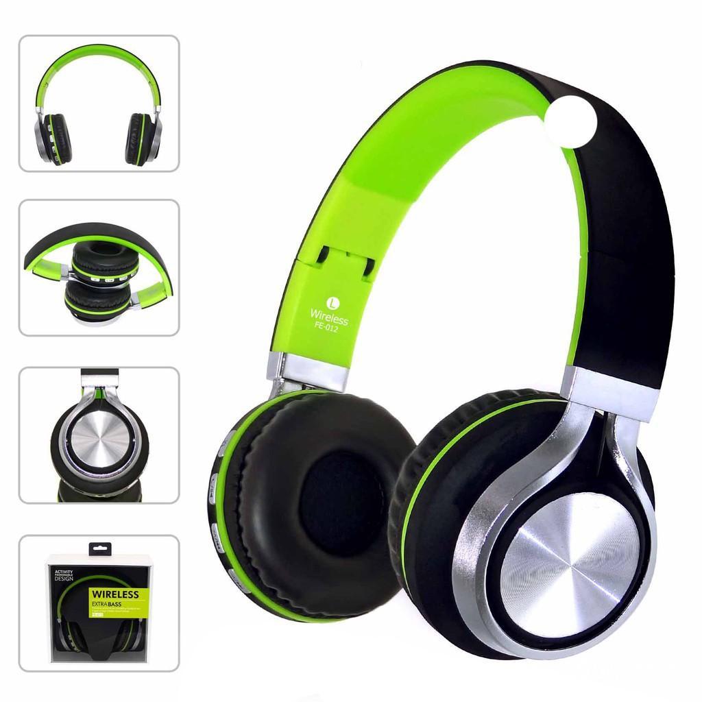 Tai nghe không dây, Tai nghe chụp tai, Tai nghe Bluetooth chụp tai FE012 (hộp to) Âm thanh sống động