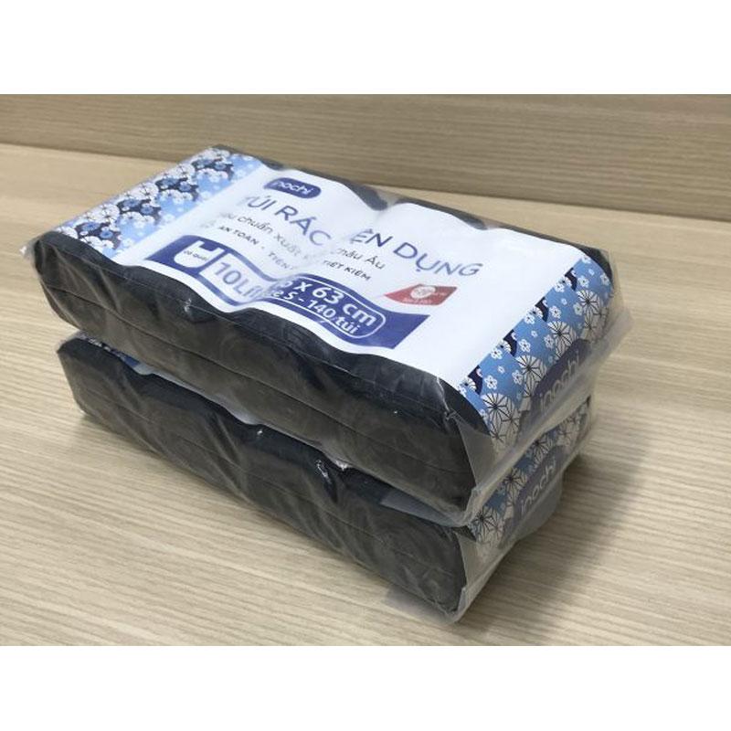 Combo 4 cuộn túi đựng rác tiện dụng Soji