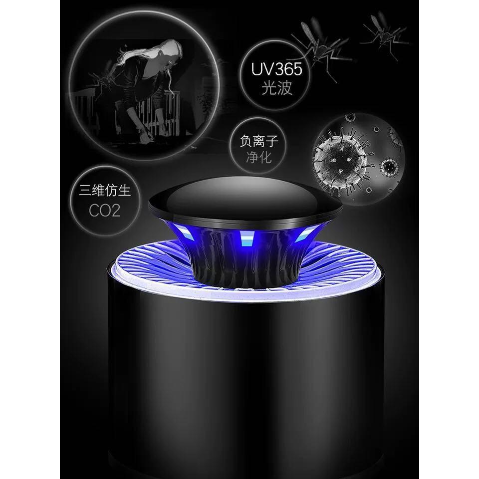 Đèn bắt muỗi hình trụ cao cấp cắm USB mẫu mới năm-003