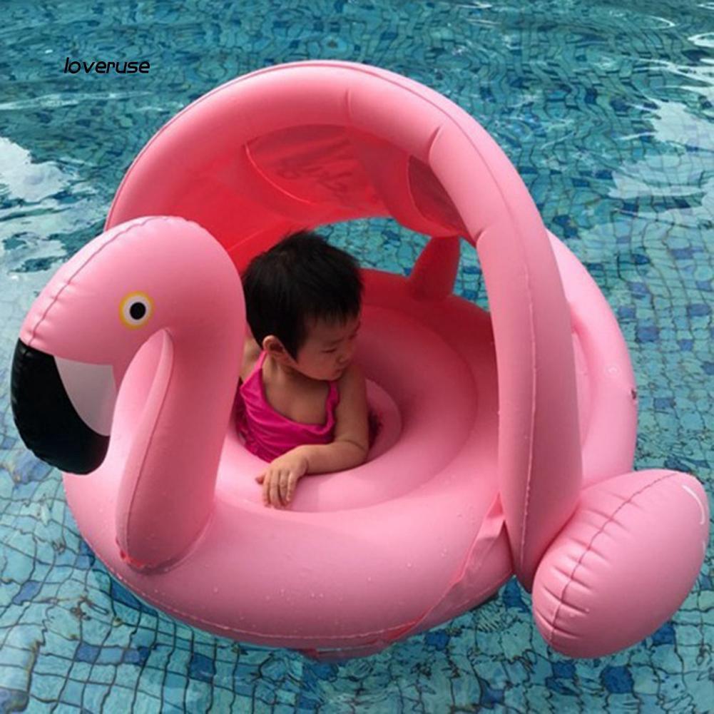 Phao bơi cho bé thiên nga trắng