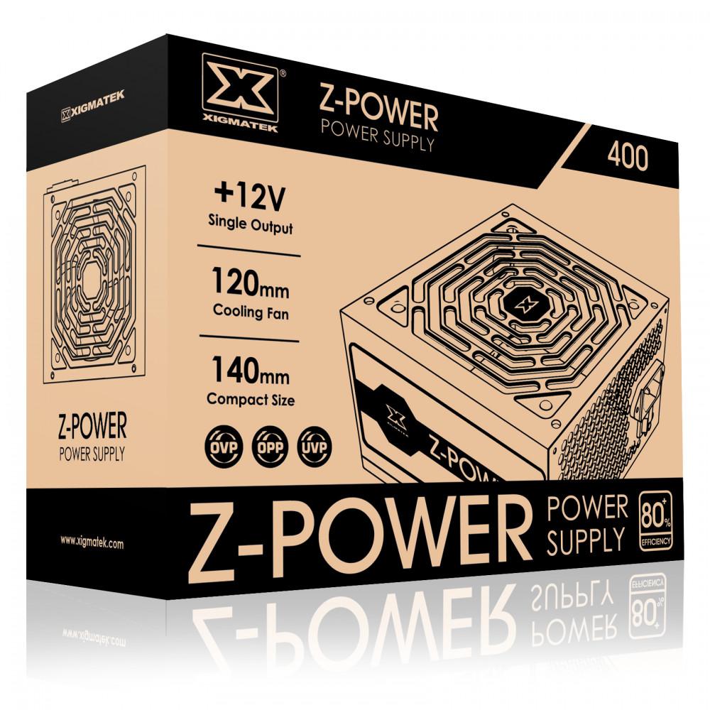 Nguồn máy tính Xigmatek Z-POWER 400 - 300W EN45921-Hàng Chính Hãng