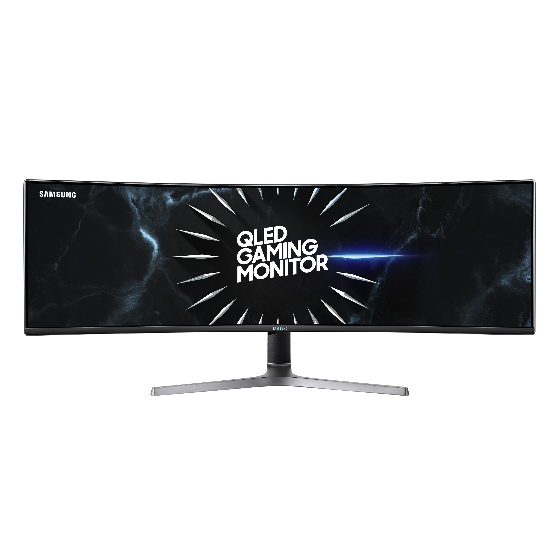 Màn Hình Cong Gaming Samsung LC49RG90SSEXXV 49 inch Dual QHD (5120 x 1440) 4ms 120Hz AMD Freesync VA - Hàng Chính Hãng