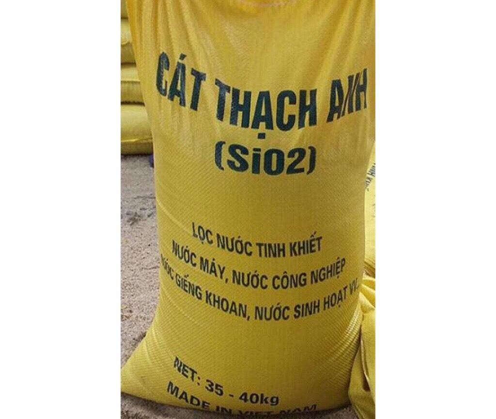 Combo 10kg Cát thạch anh lọc nước sạch 247 KT 4mm