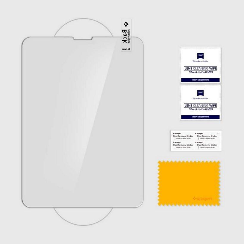 Miếng dán kính cường lực Spigen Glas.tR SLIM iPad Pro 12.9 inch (2018) - Hàng chính hãng