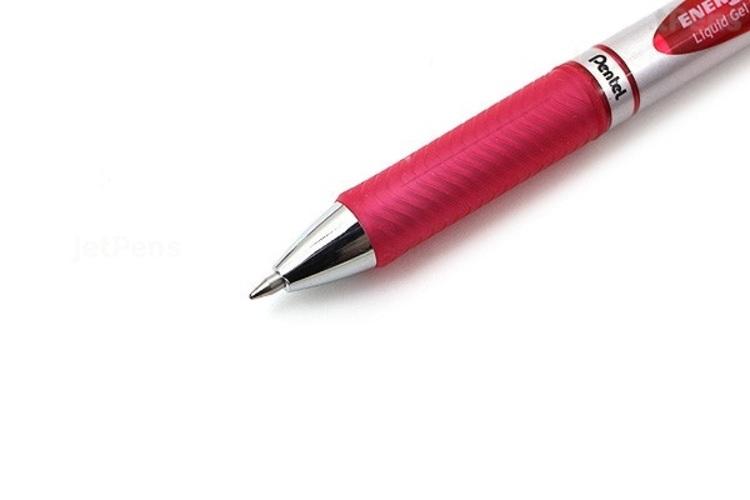 Bút gel Pentel EnerGel RTX BL77 - 0.7mm - Màu hồng (Pink)