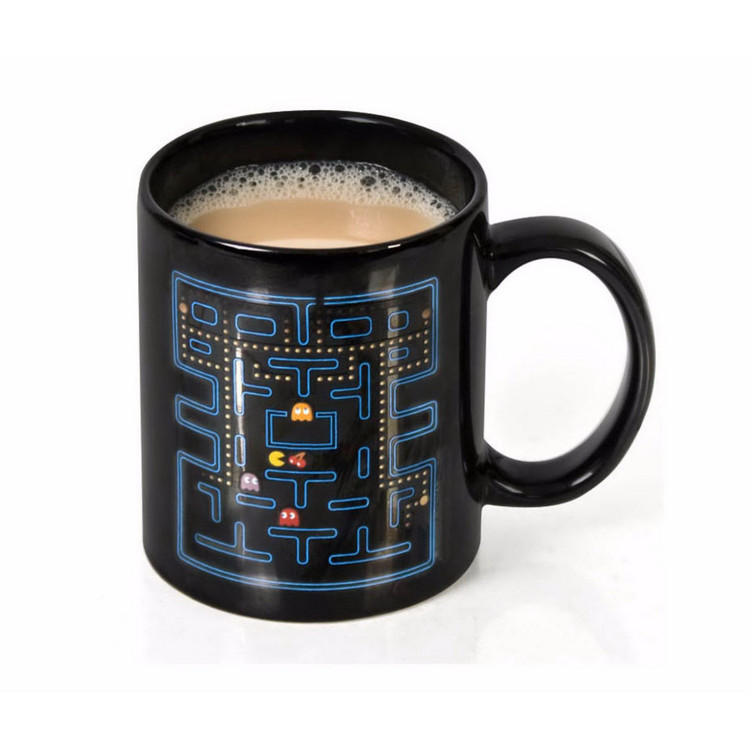 Ly đổi màu game Pac-Man (Màu đen)