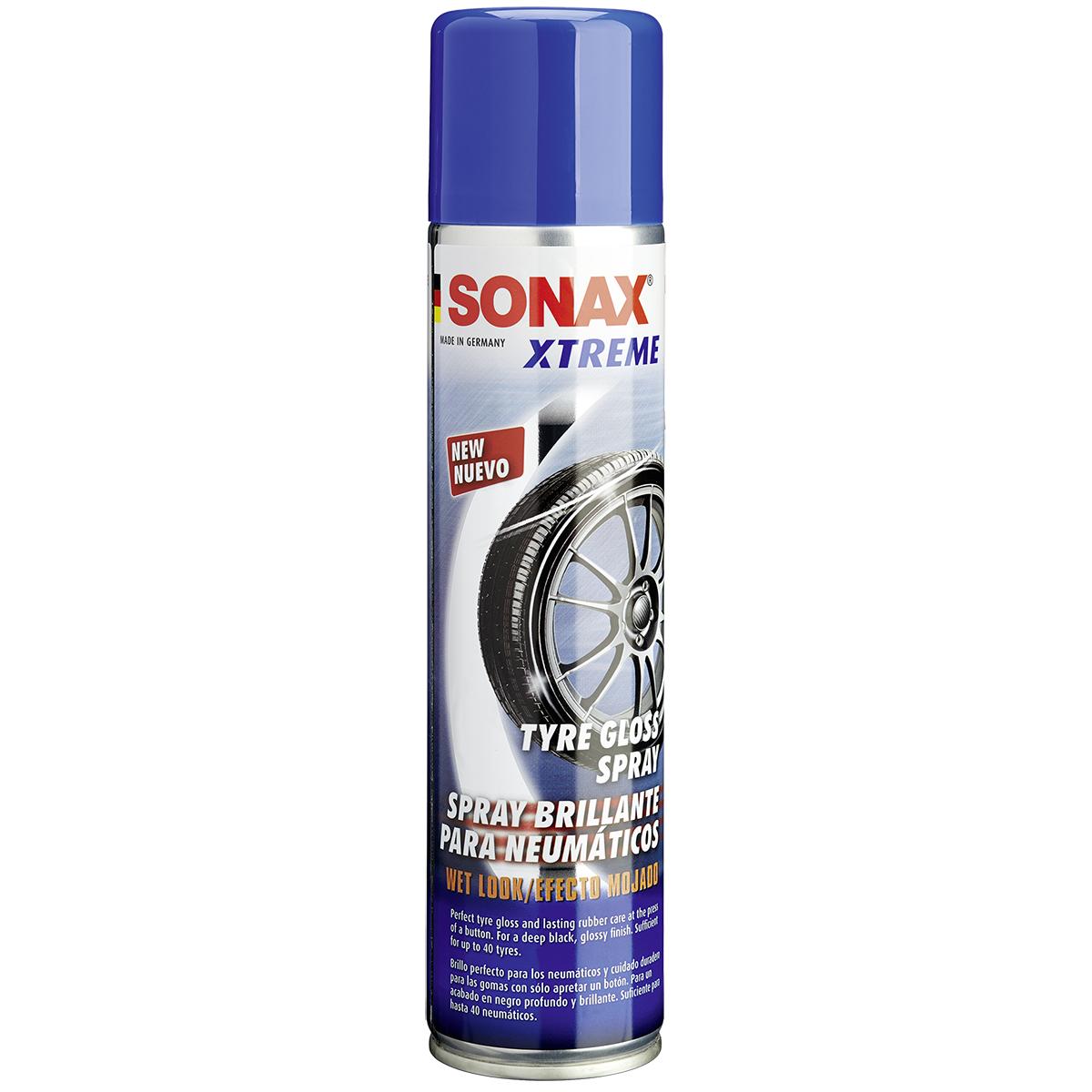 Bảo Dưỡng Lốp (Vỏ) Xtreme dạng phun, tạo hiệu ứng ướt Sonax Xtreme Tyre Gloss Spray 235300 400 ml