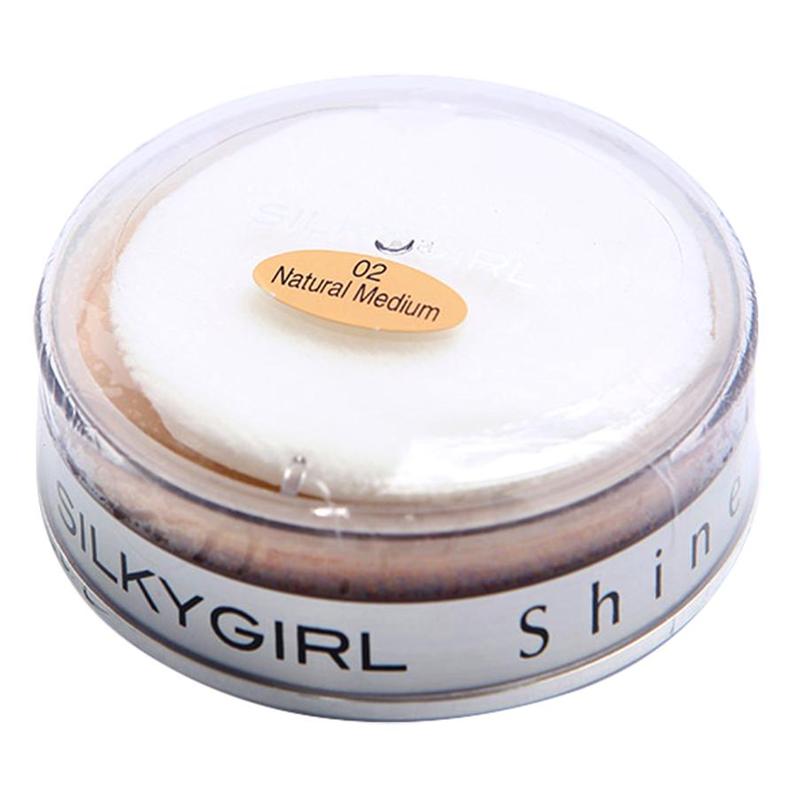 Phấn Phủ Dạng Bột Silkygirl Shine Free GF0107 (20g)