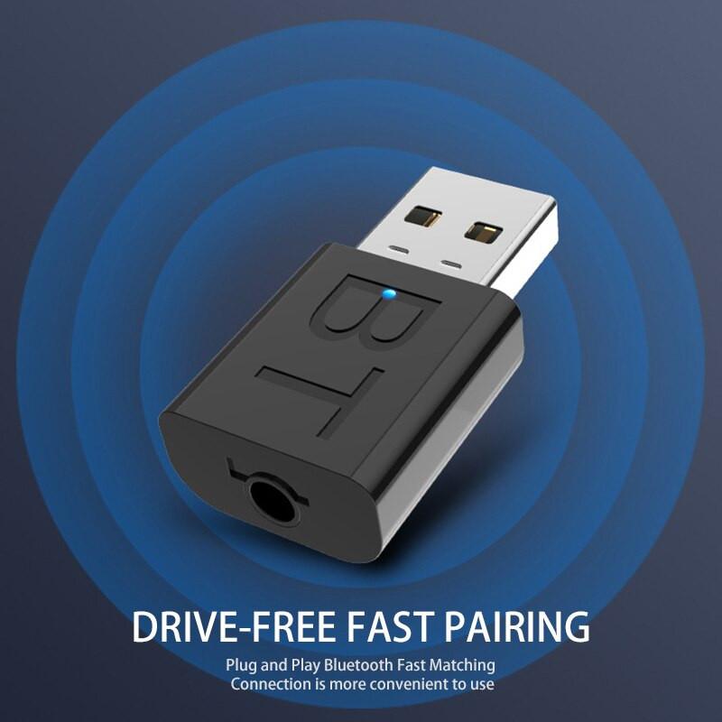 Thiết Bị Thu Phát Nhạc Không Dây USB Bluetooth 5.0 YHQ-68