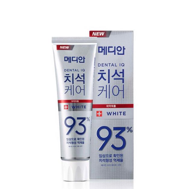 Bộ 3 Kem đánh răng MEDIAN Dental IQ 93%(Màu Bạc) 120gr + Tặng Vỉ Đôi Bàn Chải Okamura Asahi