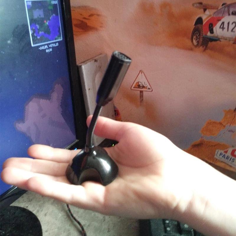 Micro Mini Cho Máy Tính PC, Laptop Cổng USB Công Nghệ Lọc Tiếng Ồn Cao Cấp AnZ