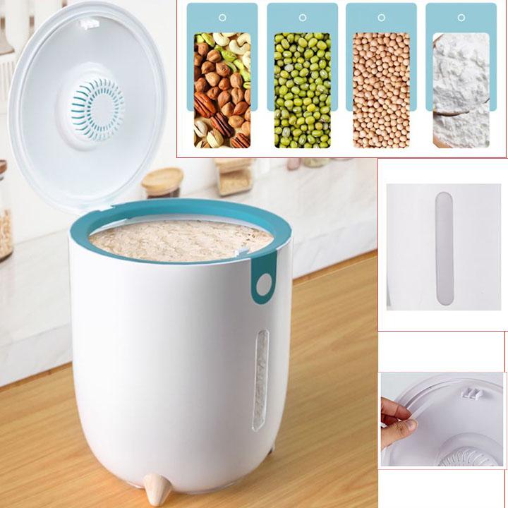 Thùng đựng gạo thông minh cho mọi nhà (Giao màu ngẫu nhiên)