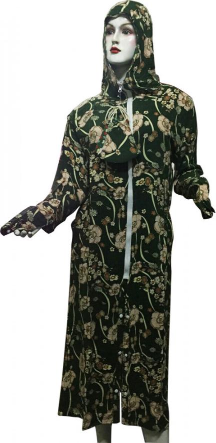 Áo Chống Nắng Hai Lớp Vải Lanh Kèm Khẩu Trang Dáng Dài (giao mẫu ngẫu nhiên)