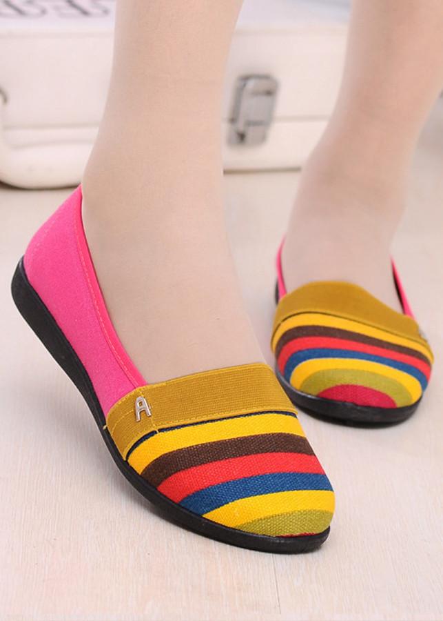 Giày mọi nữ thấm mồ hôi,mềm êm chân-308
