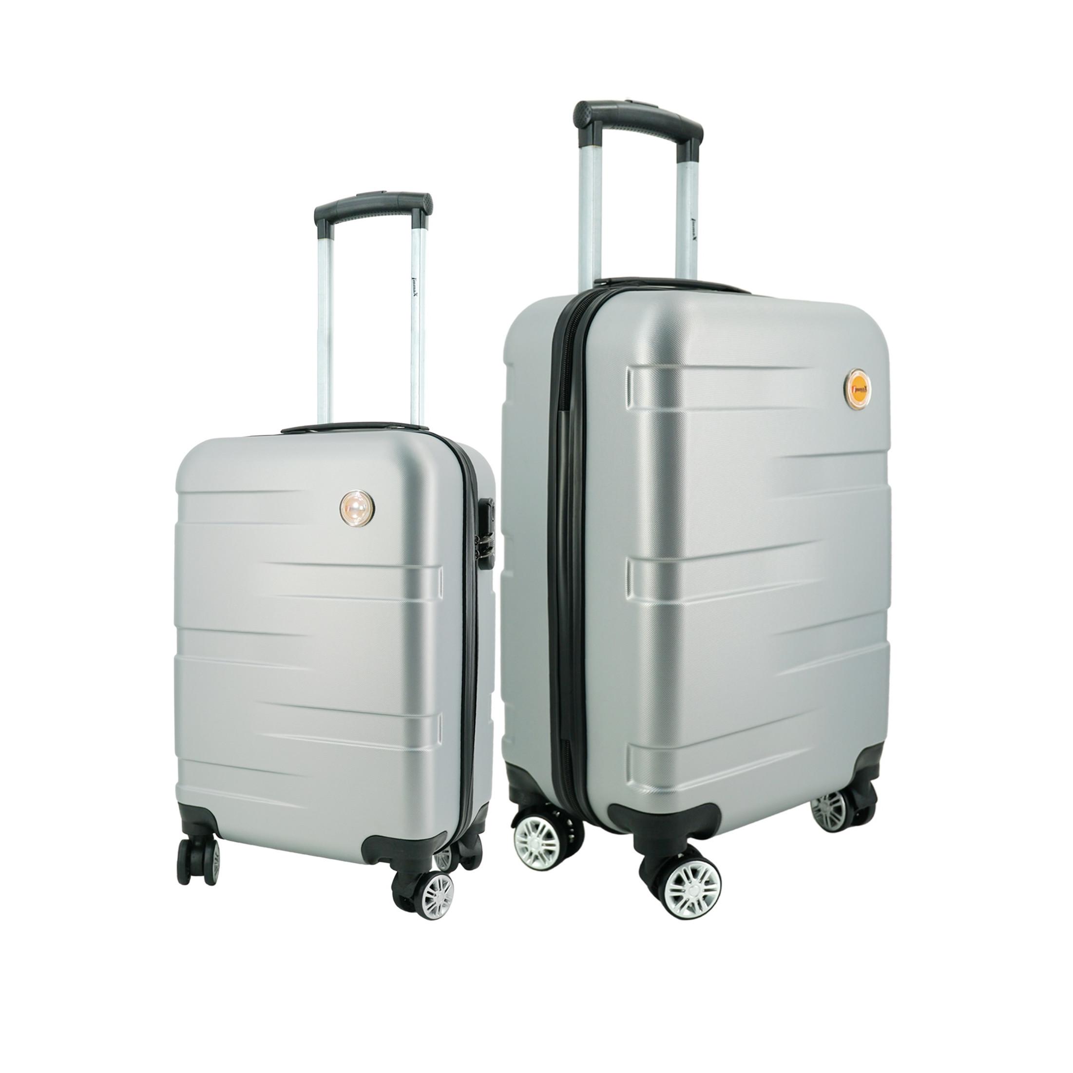 Bộ 2 vali nhựa du lịch size 20inch + 24icnh i'mmaX X14