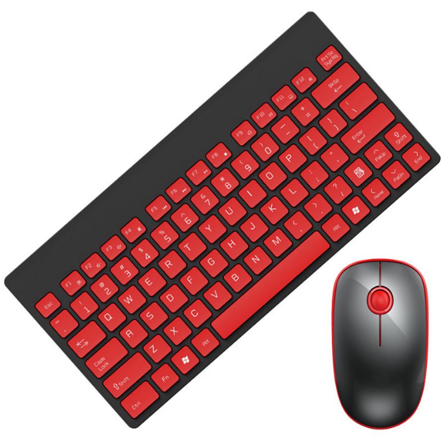 Combo Bộ bàn phím và chuột không dây F-1500 mini siêu mỏng + Tai Nghe Bluetooth Thể Thao S6 (Màu Ngẫu Nhiên)