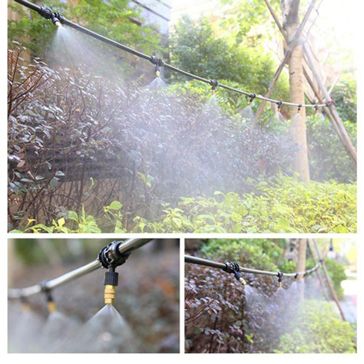 Bộ phun sương tưới cây đầy đủ - 20 béc phun đồng
