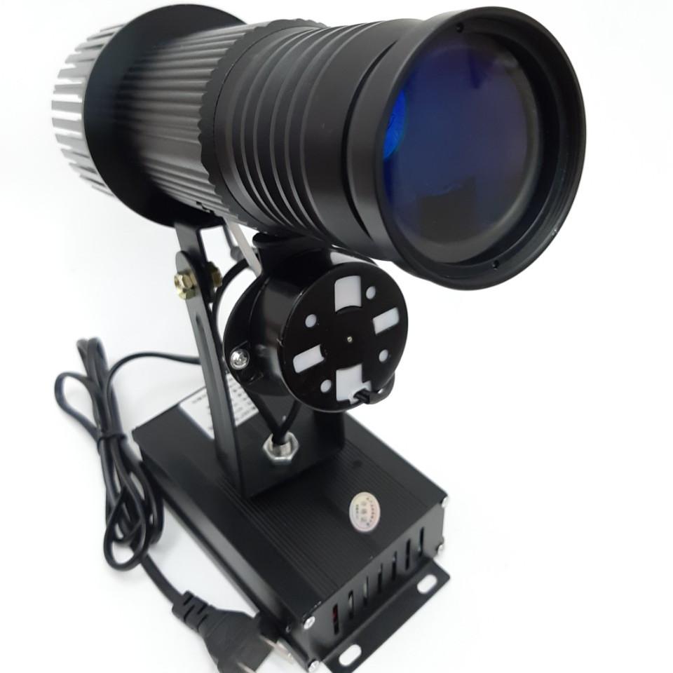 Đèn chiếu logo 15w,xoay 360 độ,điều khiển từ xa