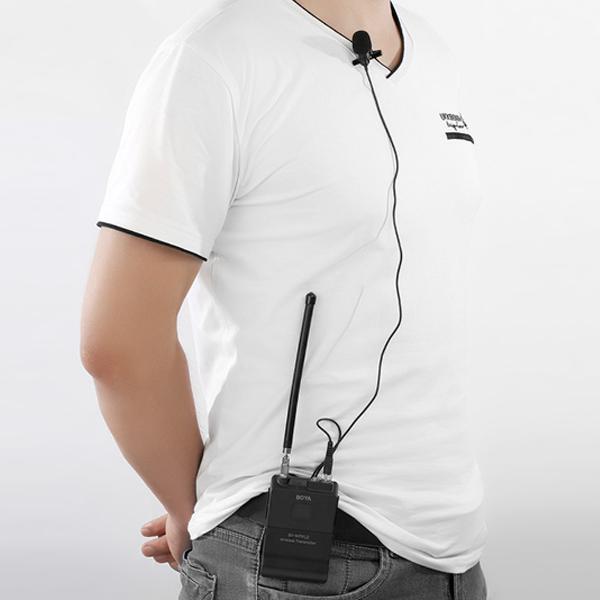 Micro Không Dây VHF Dành Cho Máy Ảnh Boya BY-WFM12 - Hàng Chính Hãng