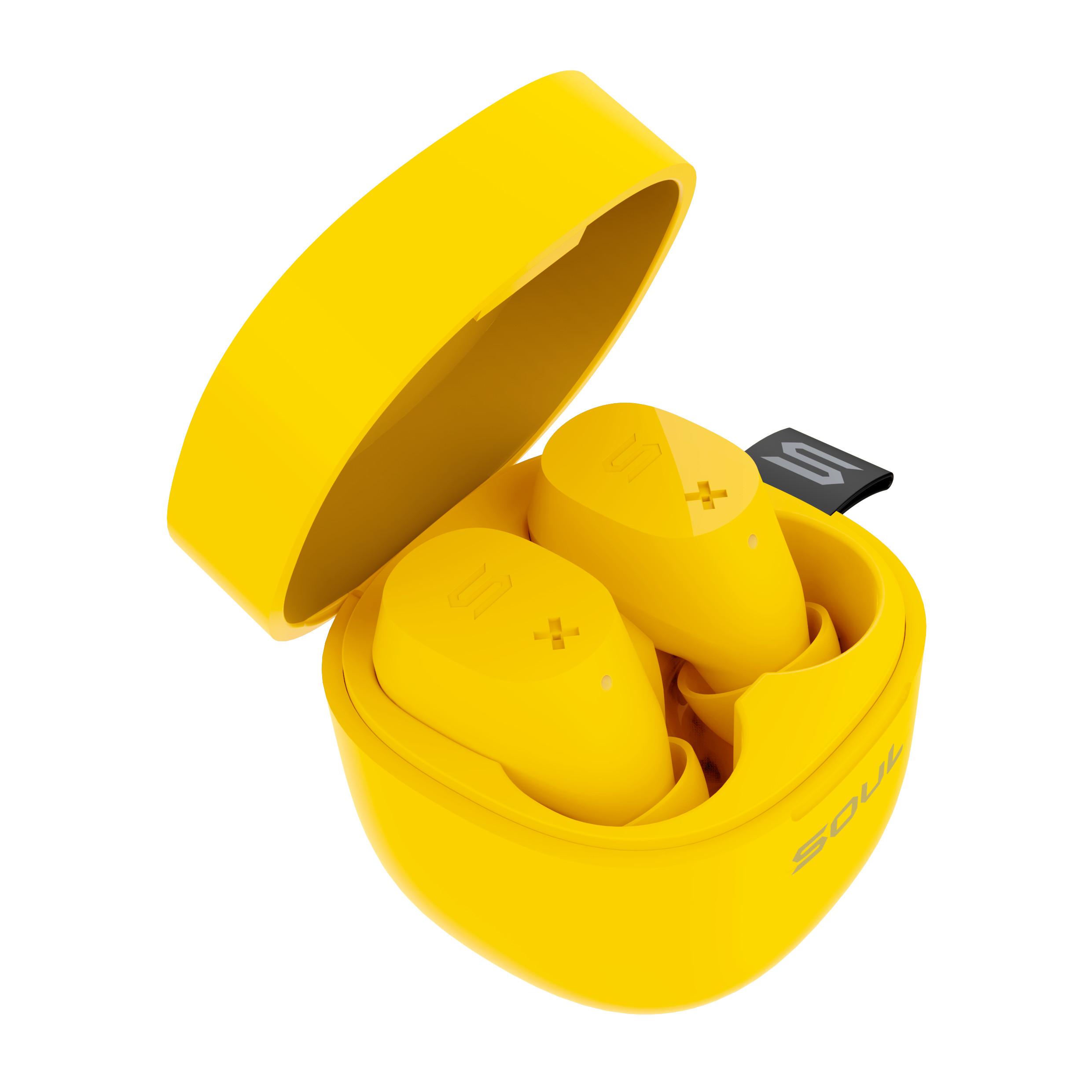 Tai Nghe True Wireless Soul ST-XX SS52YL Bluetooth v5.0 - Điều Khiển Cảm Ứng - Chống Nước IPX5 - 20 Giờ Sử Dụng - Hàng Chính Hãng