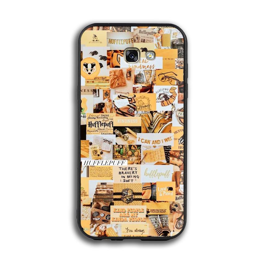 Ốp lưng Harry Potter cho điện thoại Samsung Galaxy A7 2017 - Viền TPU dẻo - 02016 7788 HP04 - Hàng Chính Hãng