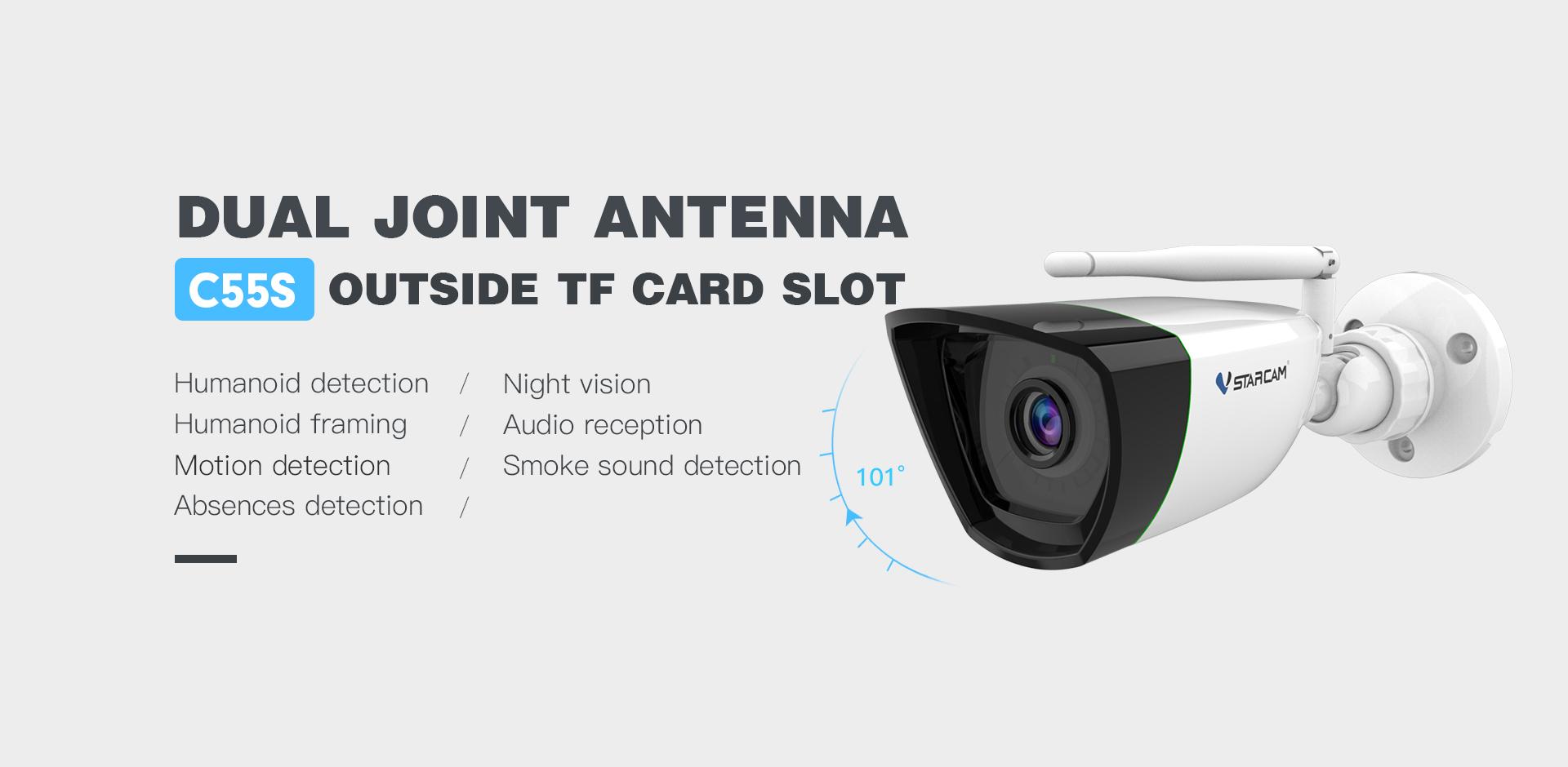 Camera IP không dây Vstarcam C55S