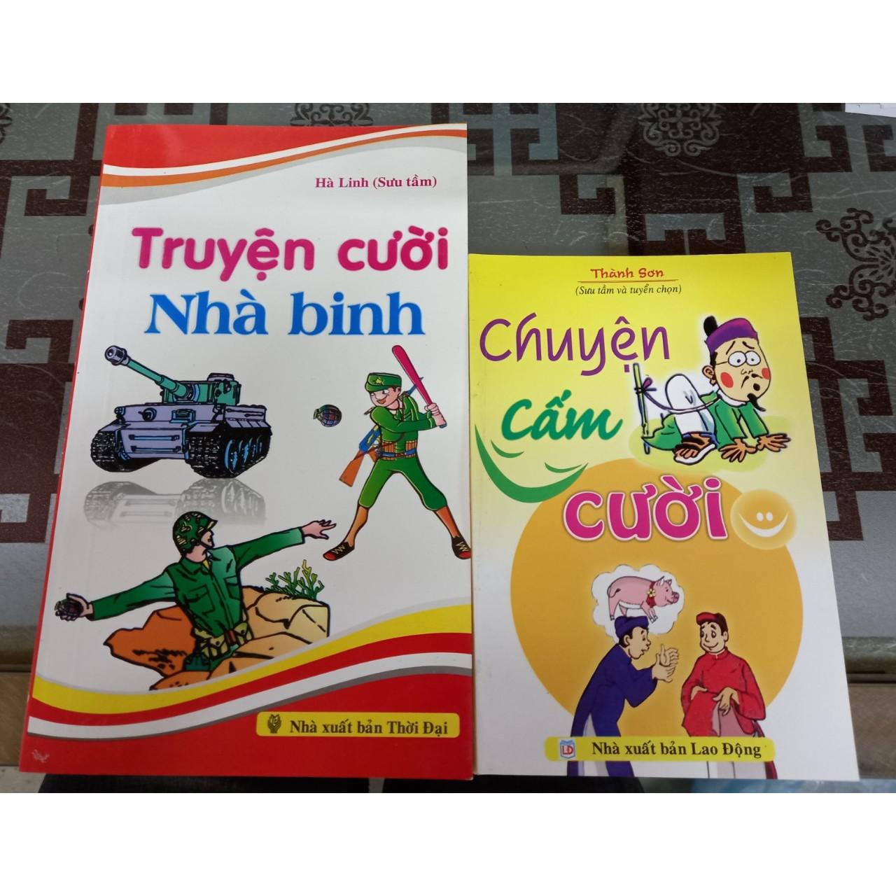 Combo 2 cuốn chuyện cấm cười  + Truyện cười nhà binh