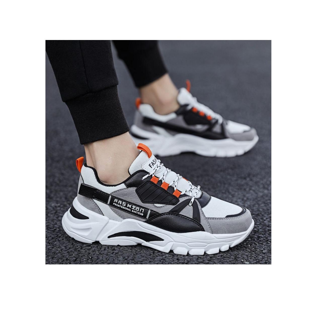 Giày nam Sneaker thể thao, Giày tăng chiều cao mẫu mới hot trend SP-344
