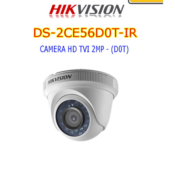 CAMERA HD TVI 2MP - DS-2CE56D0T-IR-hàng Chính hãng